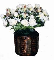 yapay karisik çiçek sepeti   Ordu çiçek siparişi vermek