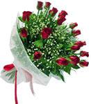 Ordu çiçekçi mağazası  11 adet kirmizi gül buketi sade ve hos sevenler
