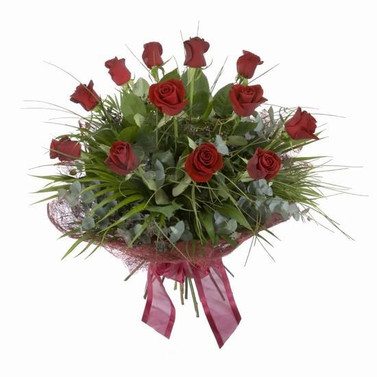 Etkileyici buket 11 adet kirmizi gül buketi  Ordu çiçekçi mağazası