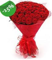 51 adet kırmızı gül buketi özel hissedenlere  Ordu hediye çiçek yolla