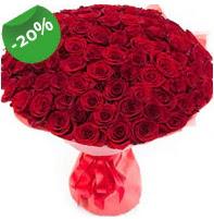 Özel mi Özel buket 101 adet kırmızı gül  Ordu uluslararası çiçek gönderme