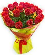 19 Adet kırmızı gül buketi  Ordu çiçekçiler