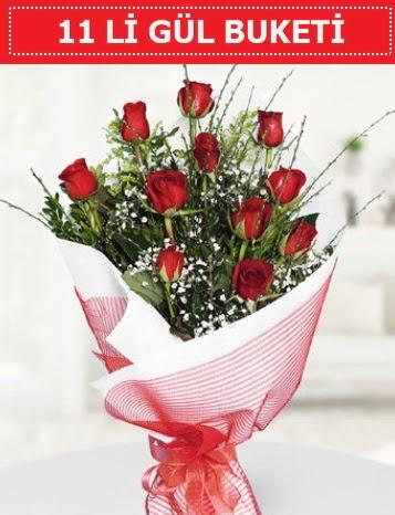 11 adet kırmızı gül buketi Aşk budur  Ordu çiçek yolla , çiçek gönder , çiçekçi