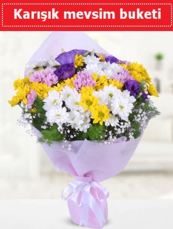 Karışık Kır Çiçeği Buketi  Ordu çiçek mağazası , çiçekçi adresleri