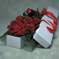 Ordu internetten çiçek siparişi  11 adet gülden kutu