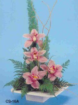 Ordu çiçek yolla  vazoda 4 adet orkide