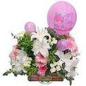 balon ve çiçeklerle tanzim  Ordu çiçekçi mağazası