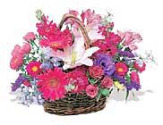 küçük karisik özel sepet   Ordu anneler günü çiçek yolla