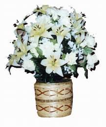 yapay karisik çiçek sepeti   Ordu çiçek online çiçek siparişi