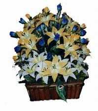 yapay karisik çiçek sepeti   Ordu çiçek gönderme sitemiz güvenlidir