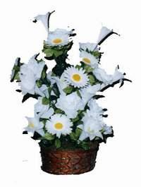 yapay karisik çiçek sepeti  Ordu çiçekçiler