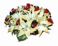 yapay karisik çiçek sepeti   Ordu internetten çiçek satışı