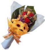 güller ve gerbera çiçekleri   Ordu çiçek yolla , çiçek gönder , çiçekçi