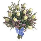 bir düzine beyaz gül buketi   Ordu çiçek yolla , çiçek gönder , çiçekçi