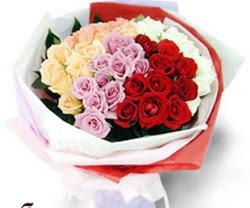 SEVENLERE ÖZEL 51 ADET GÜL  Ordu çiçekçi mağazası