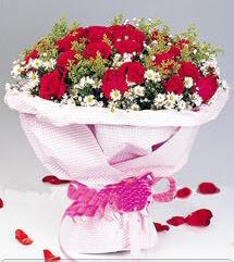 Ordu çiçekçi mağazası  12 ADET KIRMIZI GÜL BUKETI