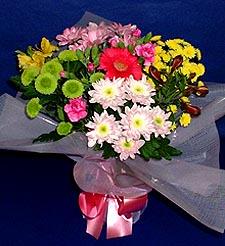 Ordu çiçek , çiçekçi , çiçekçilik  küçük karisik mevsim demeti