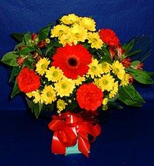 Ordu çiçek satışı  sade hos orta boy karisik demet çiçek