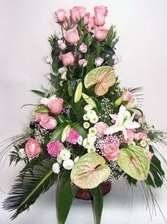 Ordu çiçek satışı  özel üstü süper aranjman