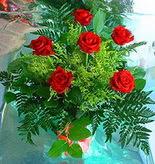 6 adet kirmizi gül buketi   Ordu internetten çiçek siparişi