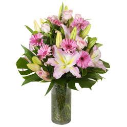 vazo içerisinde karisik mevsim çiçekleri  Ordu internetten çiçek satışı