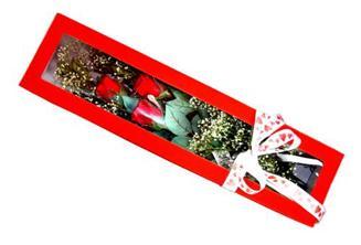 Ordu çiçek , çiçekçi , çiçekçilik  Kutuda 3 adet gül