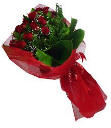 Ordu çiçek yolla , çiçek gönder , çiçekçi   10 adet kirmizi gül demeti