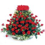 Ordu çiçek servisi , çiçekçi adresleri  41 adet kirmizi gülden sepet tanzimi