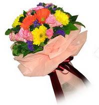 Ordu ucuz çiçek gönder  Karisik mevsim çiçeklerinden demet