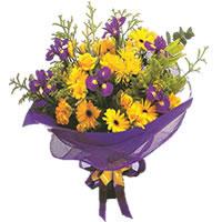 Ordu çiçek yolla , çiçek gönder , çiçekçi   Karisik mevsim demeti karisik çiçekler