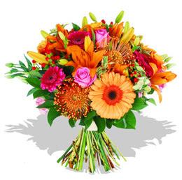 Ordu çiçek yolla  Karisik kir çiçeklerinden görsel demet