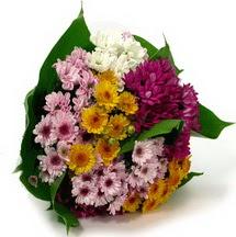 Ordu çiçek yolla  Karisik kir çiçekleri demeti herkeze