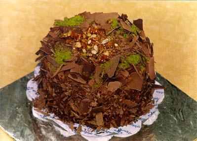 Çikolatali 4 ila 6 kisilik yas pasta  Ordu çiçek yolla , çiçek gönder , çiçekçi