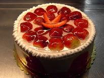 Meyvali yas pasta 4 ile 6 kisilik pasta  Ordu hediye çiçek yolla