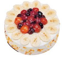Meyvali 4 ile 6 kisilik yas pasta leziz  Ordu çiçek satışı