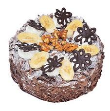 Muzlu çikolatali yas pasta 4 ile 6 kisilik   Ordu cicek , cicekci