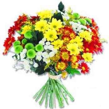 Kir çiçeklerinden buket modeli  Ordu internetten çiçek siparişi