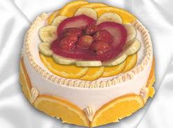 leziz pastane 4 ile 6 kisilik yas pasta meyvali yaspasta  Ordu çiçek servisi , çiçekçi adresleri