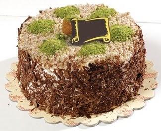pasta gönderme 4 ile 6 kisilik çikolatali yas pasta  Ordu çiçek gönderme