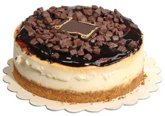 pasta yolla 4 ile 6 kisilik çikolatali yas pasta  Ordu internetten çiçek siparişi