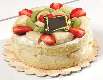 pasta siparisi 4 ile 6 kisilik karisik meyvali yas pasta  Ordu hediye sevgilime hediye çiçek