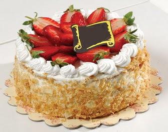 uygun pastaneler 4 ile 6 kisilik çilekli yas pasta lezzetli  Ordu çiçekçiler