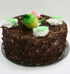 4 ile 6 kisilik yas pasta çikolatali leziz pastane ürünü  Ordu online çiçek gönderme sipariş