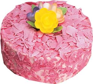 pasta siparisi 4 ile 6 kisilik framboazli yas pasta  Ordu İnternetten çiçek siparişi