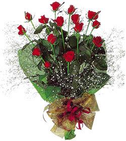 11 adet kirmizi gül buketi özel hediyelik  Ordu ucuz çiçek gönder