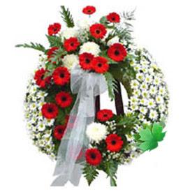 Cenaze çelengi cenaze çiçek modeli  Ordu cicek , cicekci