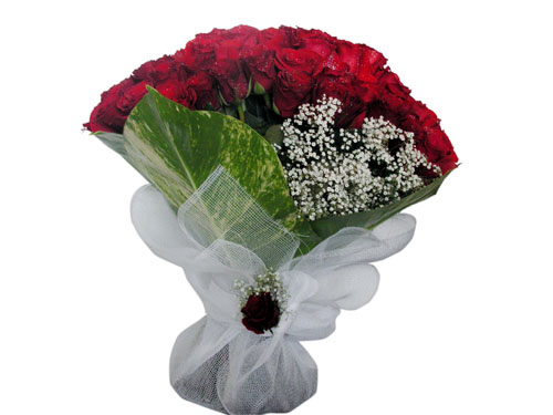 25 adet kirmizi gül görsel çiçek modeli  Ordu hediye sevgilime hediye çiçek
