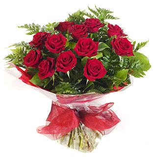 Ucuz Çiçek siparisi 11 kirmizi gül buketi  Ordu anneler günü çiçek yolla
