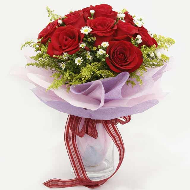 Çiçek gönderme estetikliginiz 11 gül buket  Ordu ucuz çiçek gönder