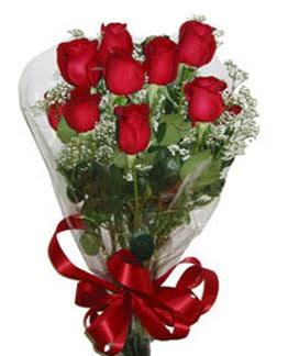 Çiçek sade gül buketi 7 güllü buket  Ordu internetten çiçek siparişi
